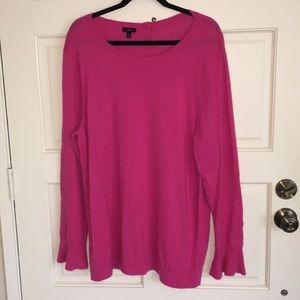 Talbots Pink Sweater